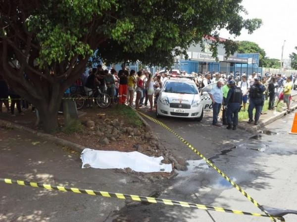 Eli Roberto Chagas foi morto em frente a uma escola