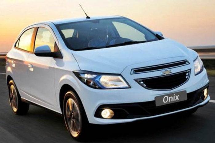 Onix teve 12.952 unidades comercializadas (Crédito: Divulgação )