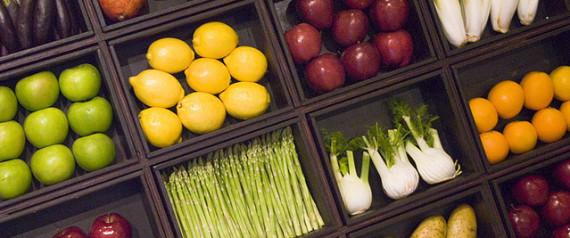 Frutas e vegetais (Crédito: Reprodução)