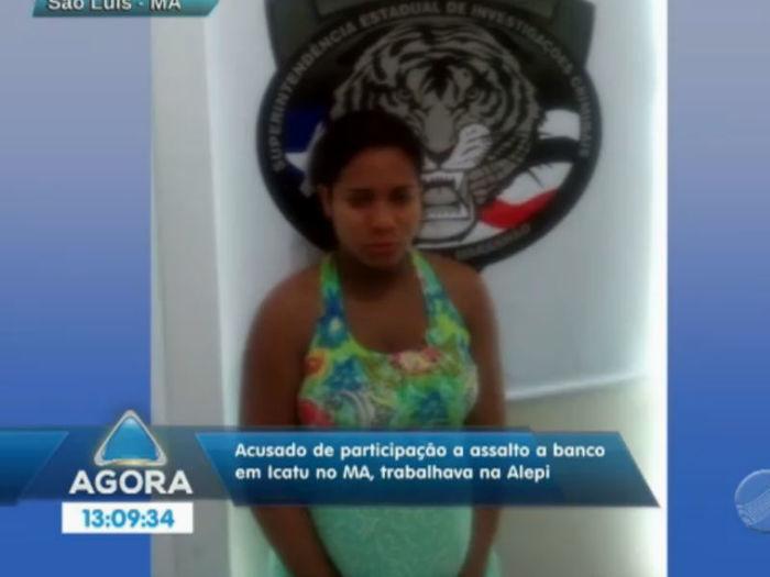 Milena Costa (Crédito: Reprodução Tv Meio Norte)