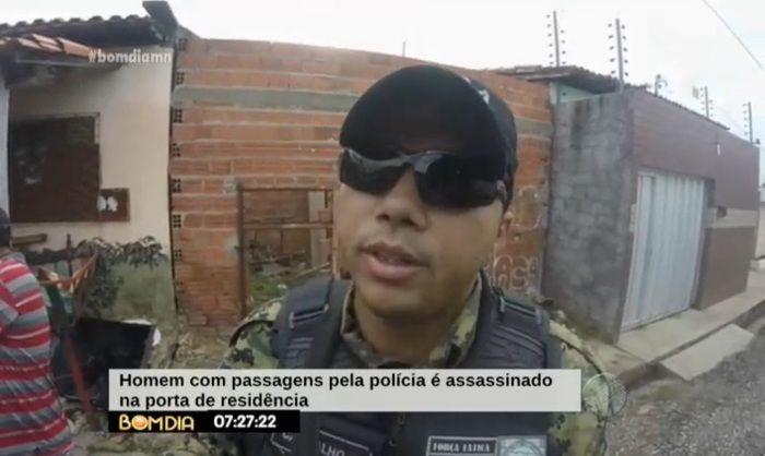 Polícia foi acionada para o local (Crédito: Reprodução/TV Meio Norte)