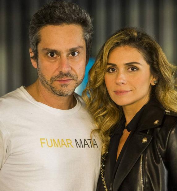 Romero e Atena (Crédito: Reprodução)