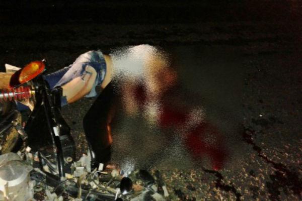 Mulher morre e homem fica gravemente ferido em acidente no Piauí