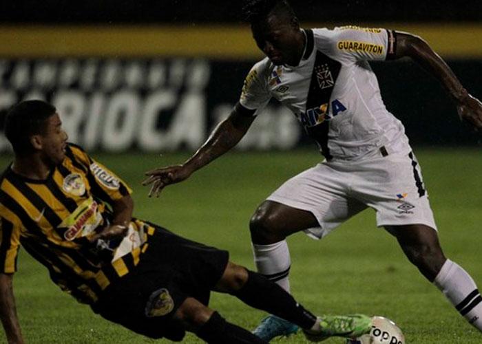 Vasco venceu por 2 a 0  (Crédito: AFP)