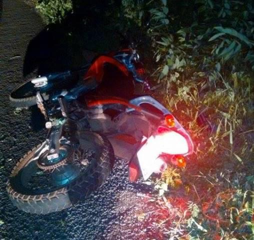 Motocicleta do atleta  (Crédito: Divulgação)