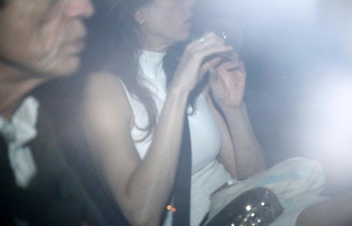 Luciana e Mick Jagger