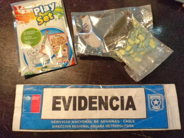 Pílulas de ecstasy em formato de 'Minions' (Crédito: Reprodução)
