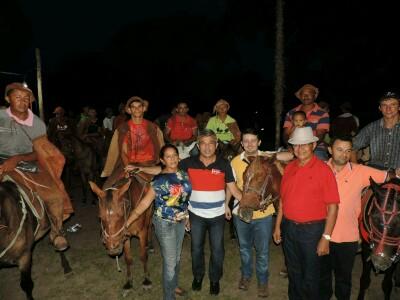 Prefeito Capote participa de cavalgada na Localidade Lameirão