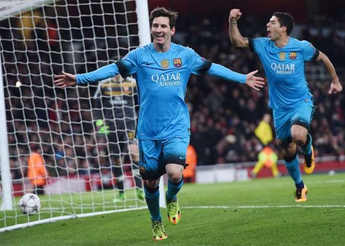 Messi foi o autor dos 2 gols da partida (Crédito: EFE)