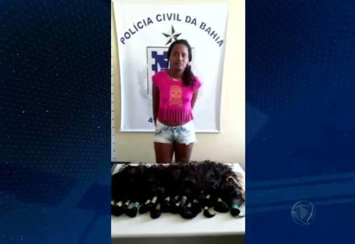 Técnica de roubos de cabelos aumenta no Brasil (Crédito: Reprodução)
