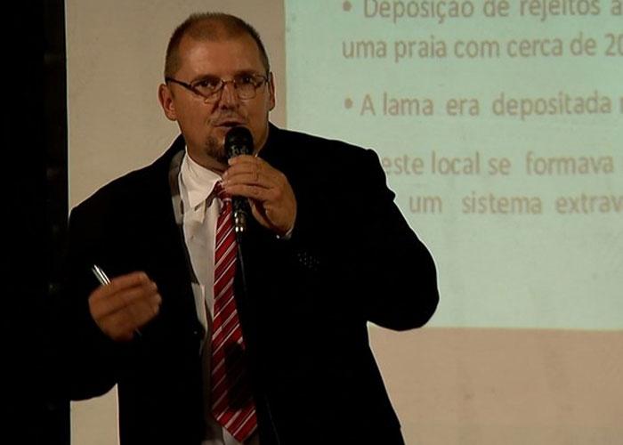 Perito da Polícia Civil de Minas Gerais, Otávio Guerra Terceiro (Crédito: Reprodução/ TV Globo )