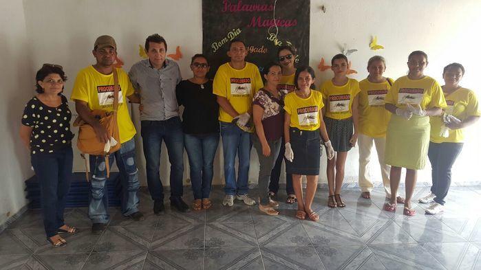 equipe da saúde  prefeito agentes de saúde, edemias e cras (Crédito: Adones da Silva)