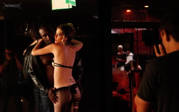 Fernanda e Blackout juntos no Paparazzo  (Crédito: Paparazzo )