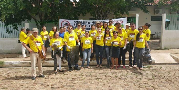 Juazeiro do Piauí Realiza Mutirão Contra o Mosquito Aedes aegypti.