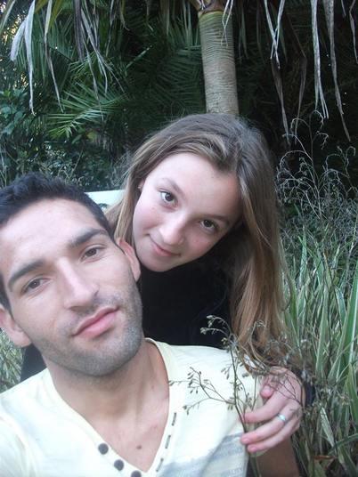 João Carlos e Iasmim (Crédito: reprodução)