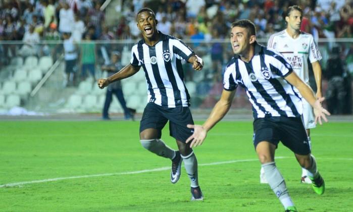 Botafogo venceu o Fluminense (Crédito: Terceiro / Gabriel Lordello)
