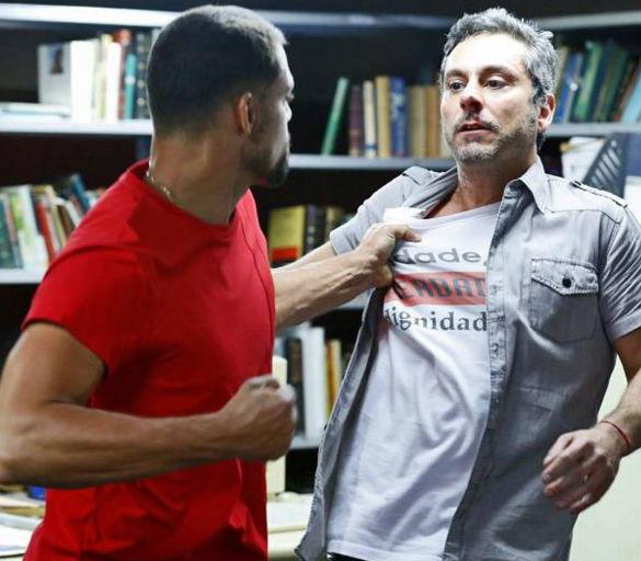 Juliano e Romero (Crédito: Reprodução)