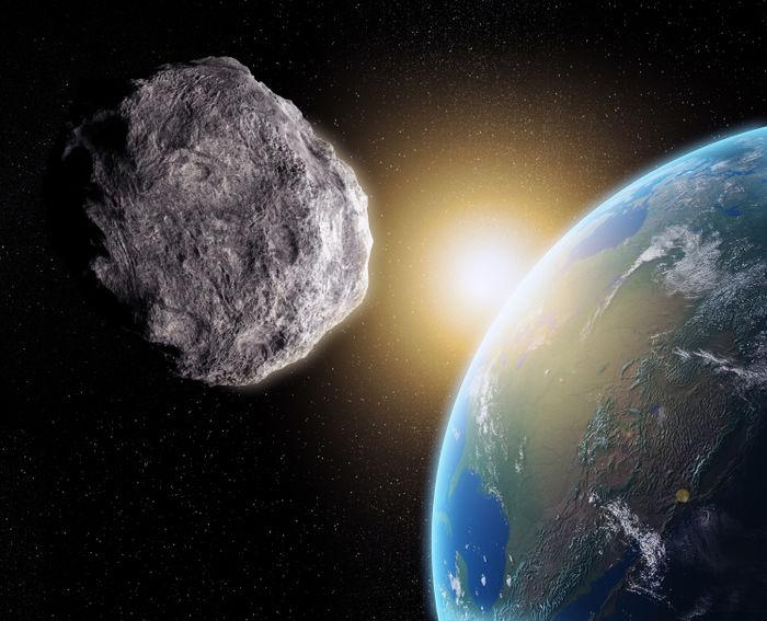 Asteróide passará perto da Terra  (Crédito: Reprodução)