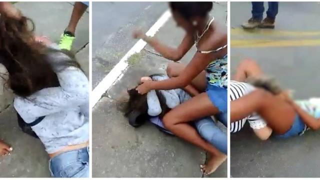 Mãe e filha foram vítimas de agressão (Crédito: Reprodução)
