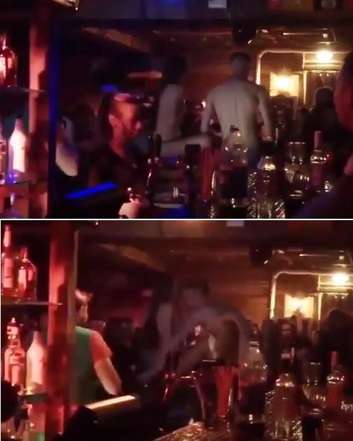 Casal faz sexo em bar (Crédito: Reprodução)