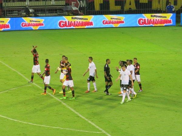 Flamengo e Resende (Crédito: Reprodução)
