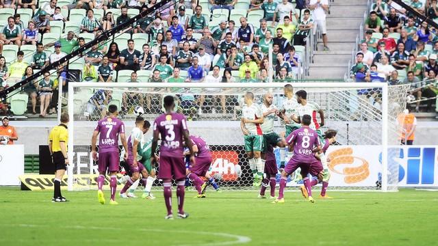 Vaiado, Palmeiras é derrotado em casa pela Ferroviária (Crédito: Reprodução)