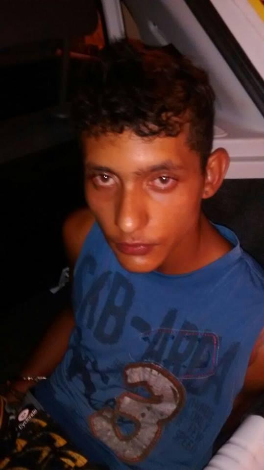 """O jovem foi identificado como Marcos Vitor, vulgo """" Pereta """" (Crédito: Reprodução)"""
