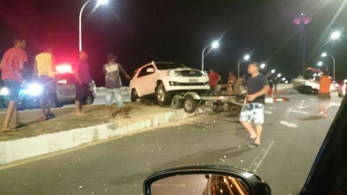 Acidente na Ponte Estaiada