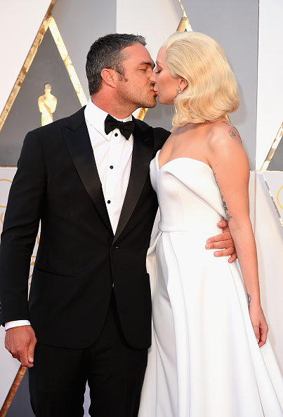 Lady Gaga e  Taylor Kinney (Crédito: Reprodução)