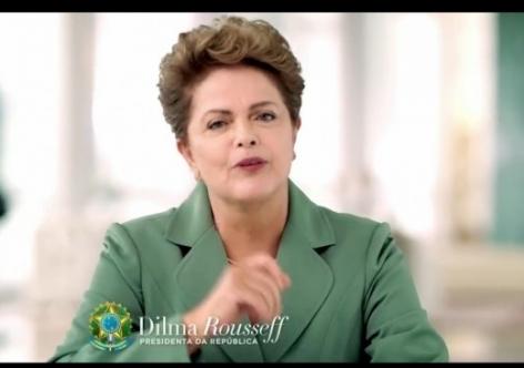 Dilma Rousseff fará nesta quarta-feira um pronunciamento em rede nacional de rádio e televisão
