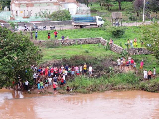 Adolescente morre afogado em rio (Crédito: Reprodução)