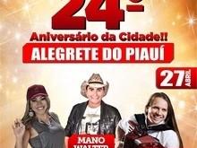 Prefeito Márcio Alencar anuncia atrações do aniversário de Alegrete