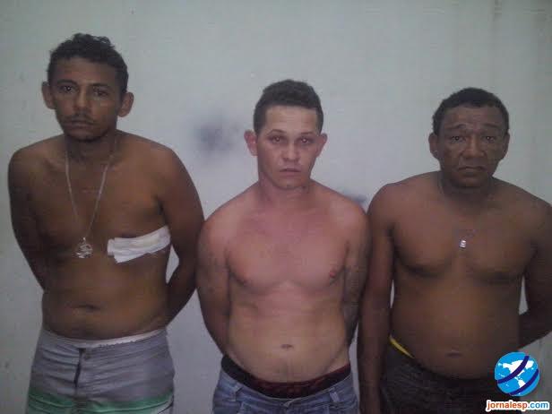 Raimundo Nonato Sousa Araújo, Carlos André Alves de Carvalho e Antonio Alves Ferreira
