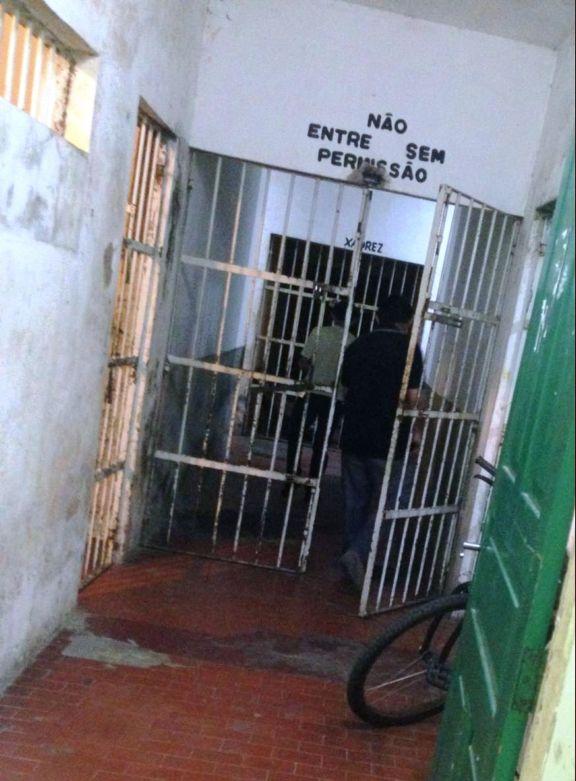Acusado foi levado para Central de Flagrantes (Crédito: Reprodução)