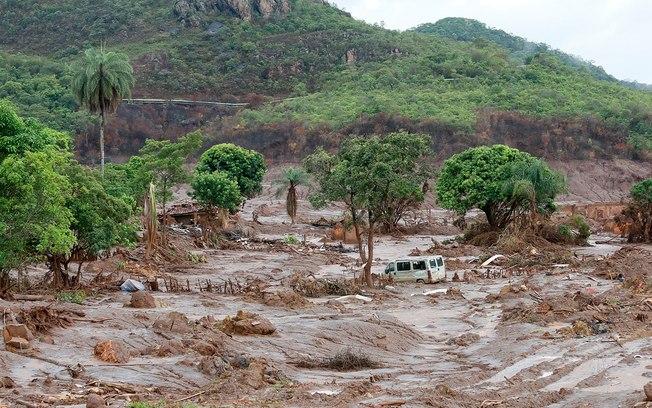 Cenário de destruição após tragédia