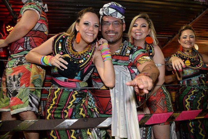 Carro 'Africa Pop' foi o grande campeão (Crédito: David Carvalho)