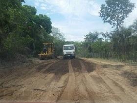 Prefeito Zé Henrique Constrói mais estrada na Zona Rural