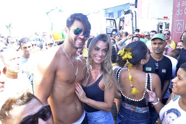 Nicole Bahls e e Marcelo Bimbi