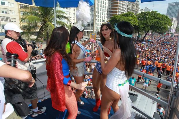 Globais causaram em cima do trio no Rio