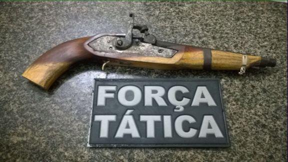 Arma de Anderson Silva (Crédito: Divulgação )
