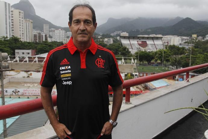 Muricy Ramalho, hoje no Flamengo