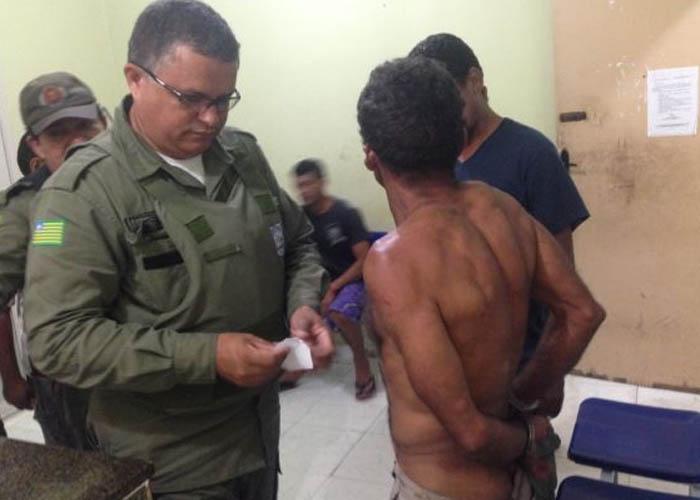 Homem foi detido por uma guarnição no litoral