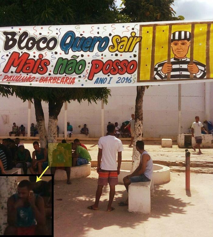 Detentos criam bloco de carnaval em Pernambuco