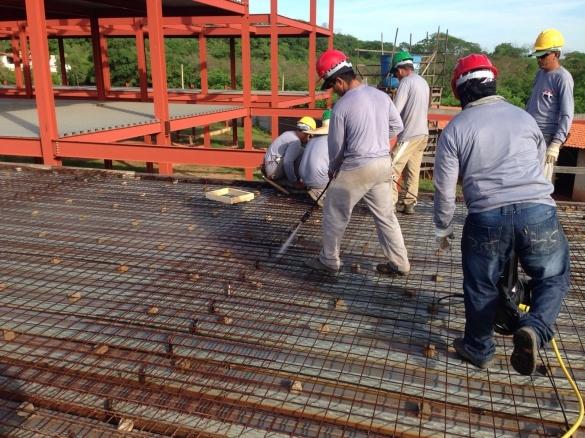 Contrução do novo hospital (Crédito: Ascom)