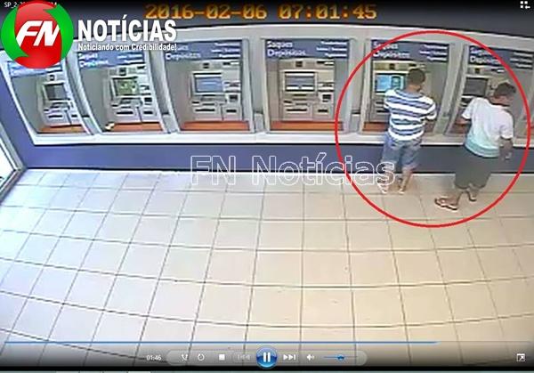 Dupla é presa por instalar 'chupa-cabra' em caixas no Piauí  (Crédito: FN Noticias)