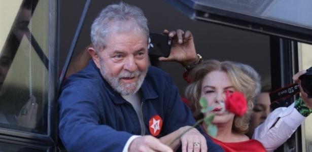 Lula e esposa (Crédito: Divulgação )