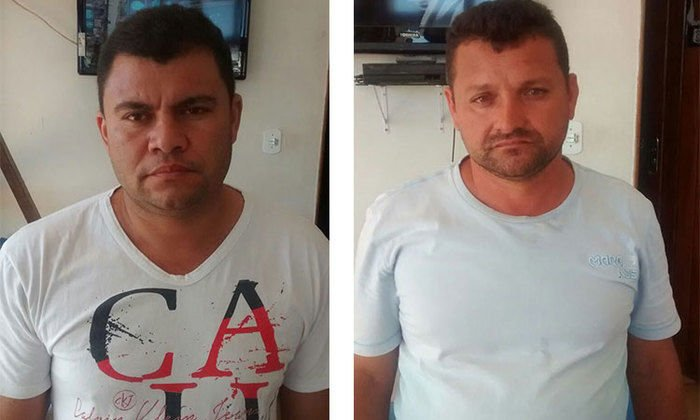 Dois acusados foram presos em flagrante