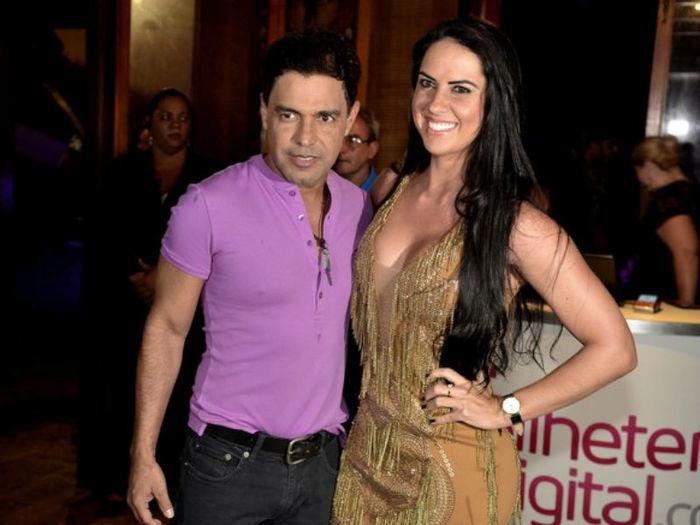 Zezé e sua namorada (Crédito: Divulgação)