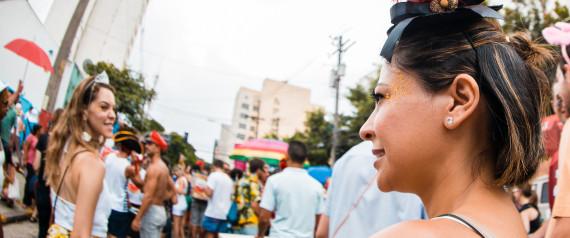 Visão machista dos homens sobre mulheres em carnaval