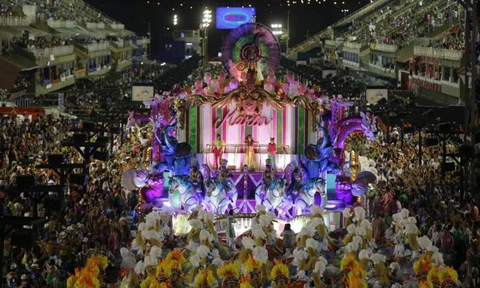 Desfile Mangueira (Crédito: O Globo)